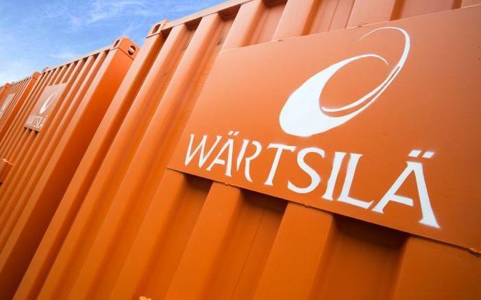 Wärtsilä logistics service