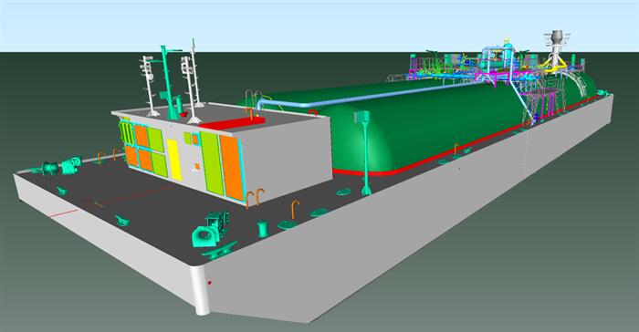 LPG Barges