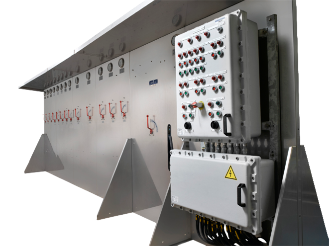 Hydraulic emergency shut-off system - product image