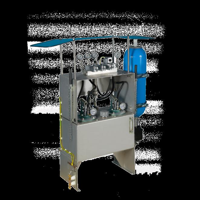 Hydraulic-emergency-shut-off-system