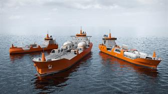 Merchant vessels - gas carriers