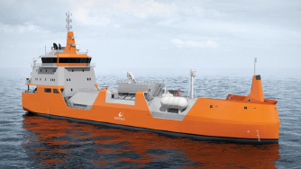 WSD59 3K, LNG bunkering vessel ship design