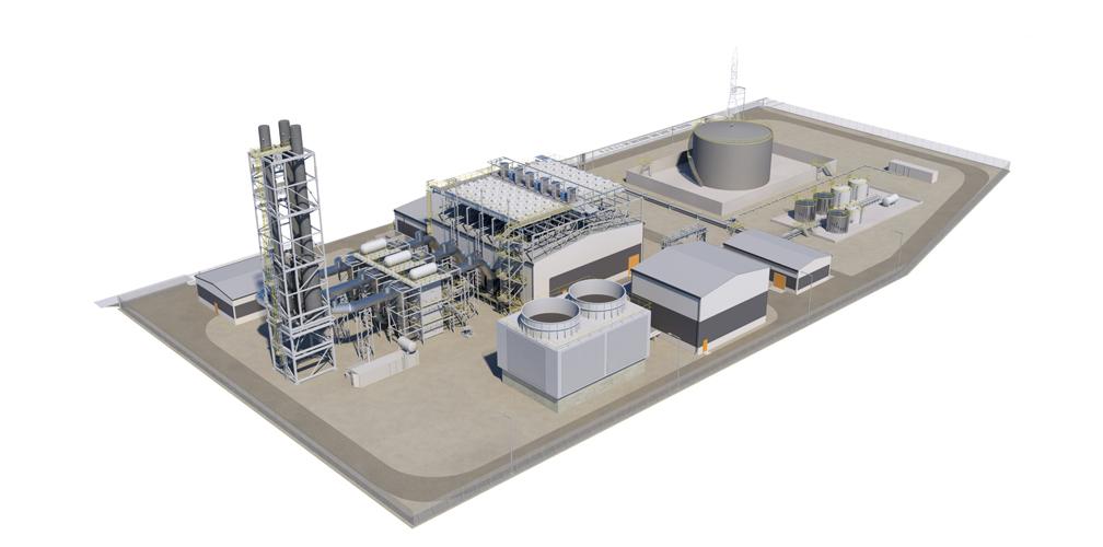 Services catalogue power plants