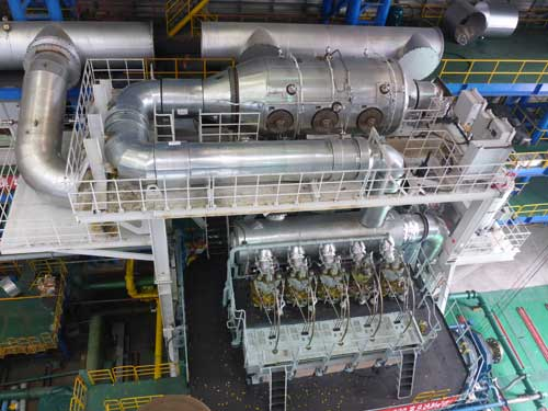 First Wärtsilä two-stroke engine with Tier III compliant high pressure SCR produced in China introduced