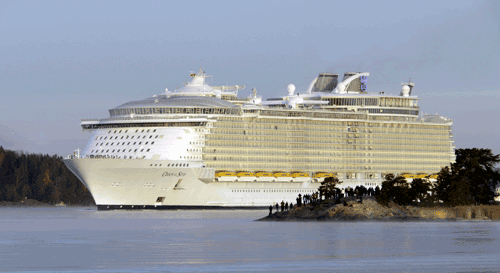 Oasis of the Seas is one of the 36 vessels in the Royal Caribbean Cruises fleet that will be covered by the new maintenance and support agreement