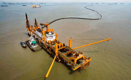 One of the world's largest non self-propelled cutter dredger vessels will feature Wärtsilä engines, both to generate power and to drive the dredging pump.
