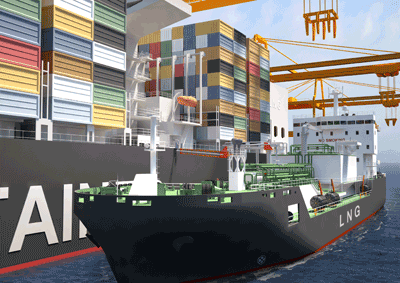 The specialized LNG Bunker vessel to be built at the STX Offshore & Shipbuilding Company yard in South Korea on behalf of Shell will be powered by Wärtsilä DF dual-fuel engines