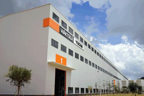 Wärtsilä and Yuchai joint venture inaugurates new medium-speed marine engine factory in China