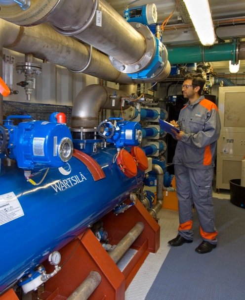 Wärtsilä Aquarius EC BWMS currently being tested for USCG type approval.