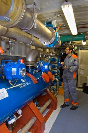 Wärtsilä AQUARIUS® EC Ballast Water Management System