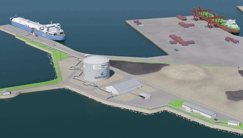 Wärtsilä receives full notice to proceed for its first LNG terminal