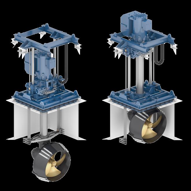 Wärtsilä retractable thruster