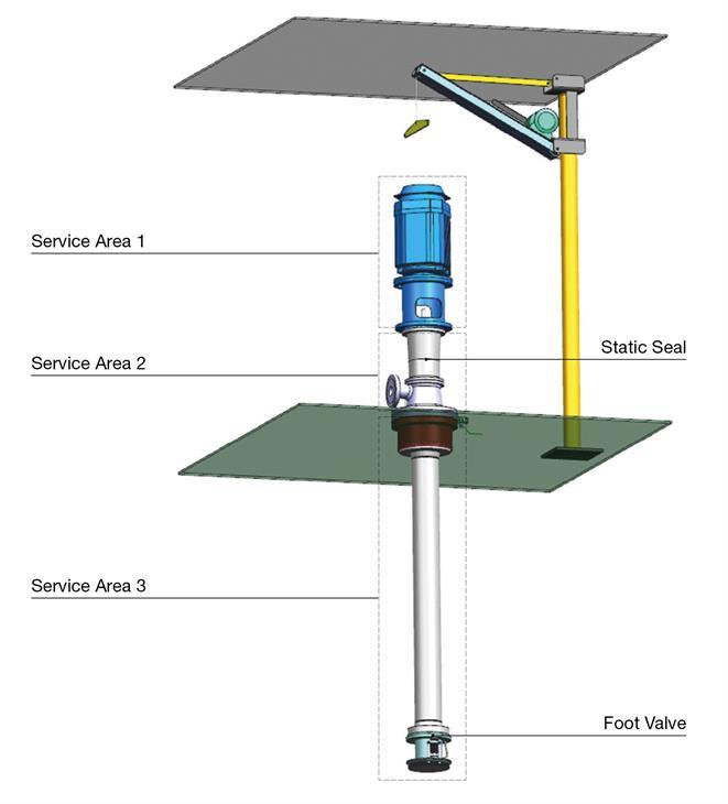 Service area - ECA Fuel Pump