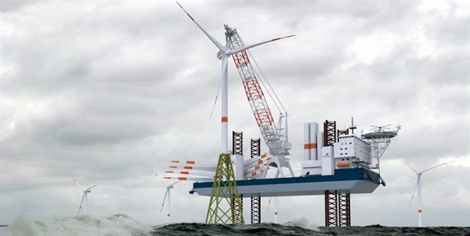 High Performance Turbine Installation Vessel