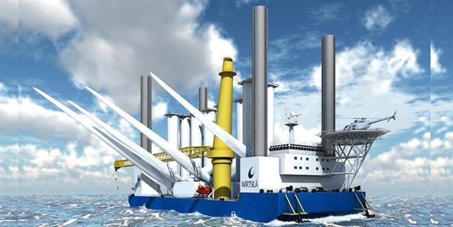 Jack-up Crane Barge