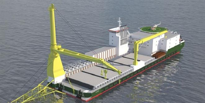 Pipe Laying Vessel PLV924