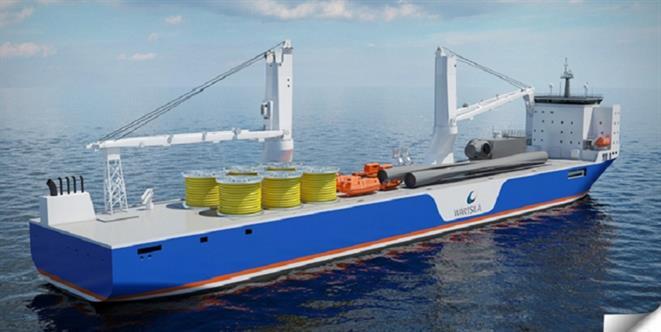 WSD 85 Heavy lift vessel