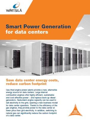 Smart power generation for Datacenters Leaflet