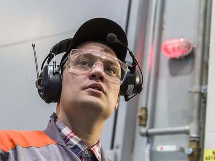 Fredrik Grönlund has every little boy's dream job