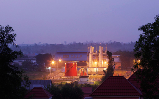 GasCube power plant in Bontang