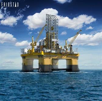 Semi-submersible drilling rig