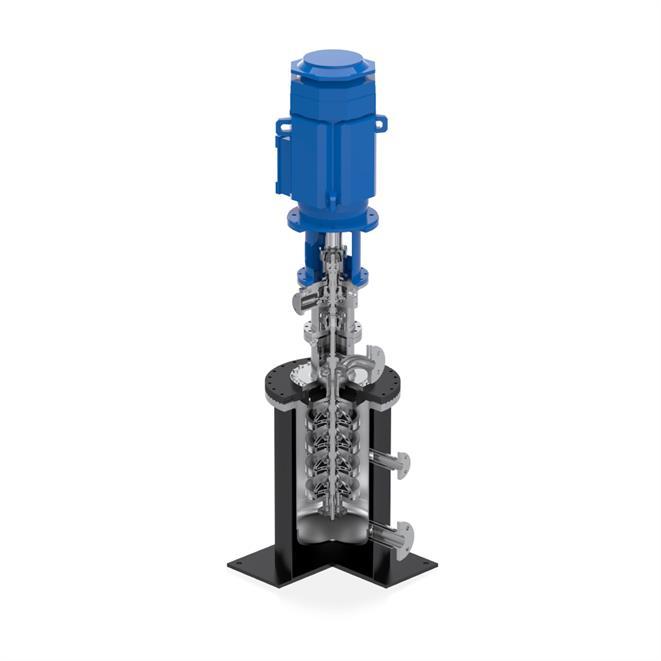 ECA fuel pump installed in Cryosump