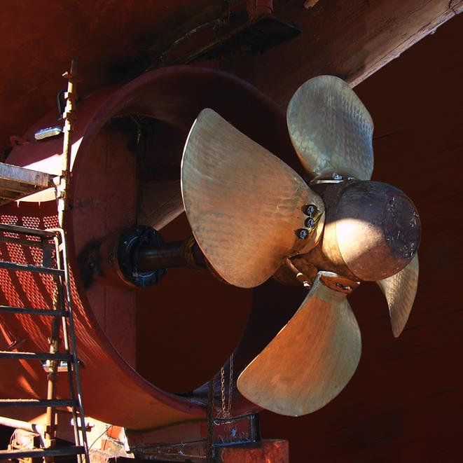 New propeller design for efficiency improvement