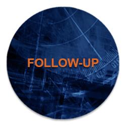 Follow up button