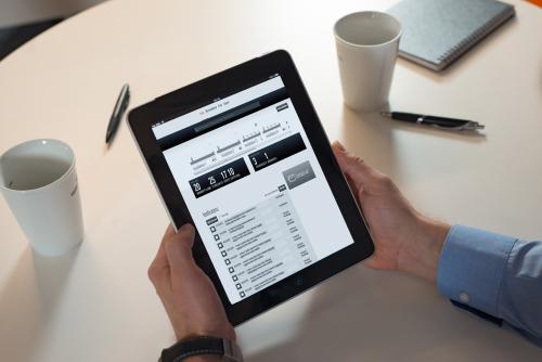 Tablet online services