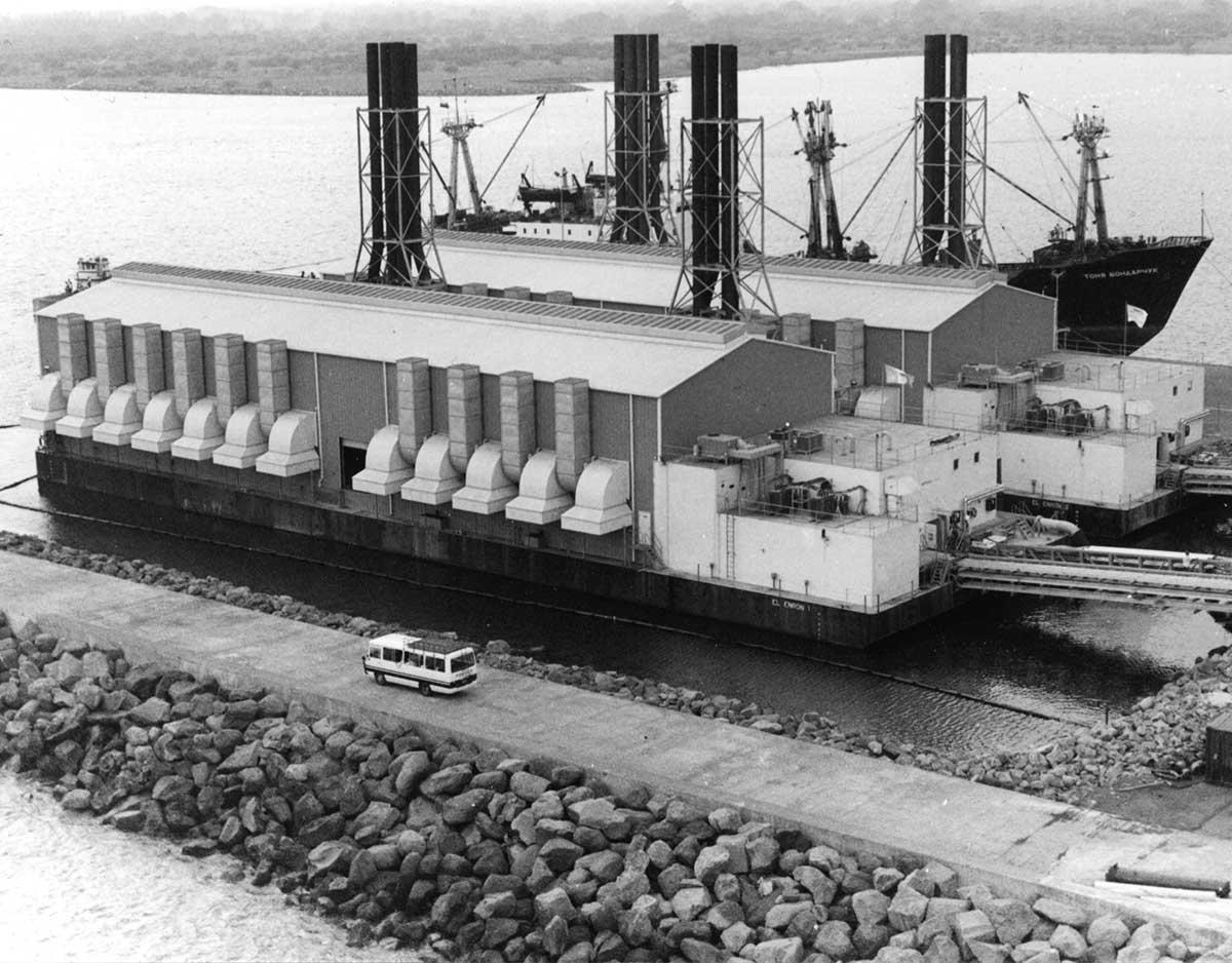 Floating Power Plant Jaakko Eskola story
