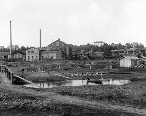 Wartsila Iron Mill 1852