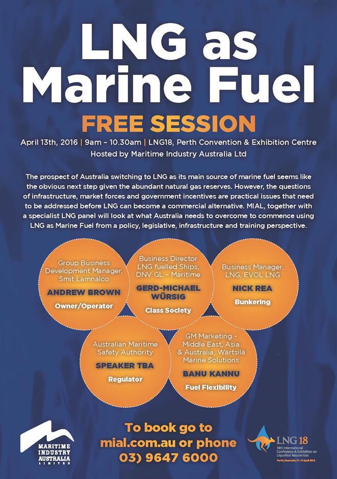 LNG as marine fuel