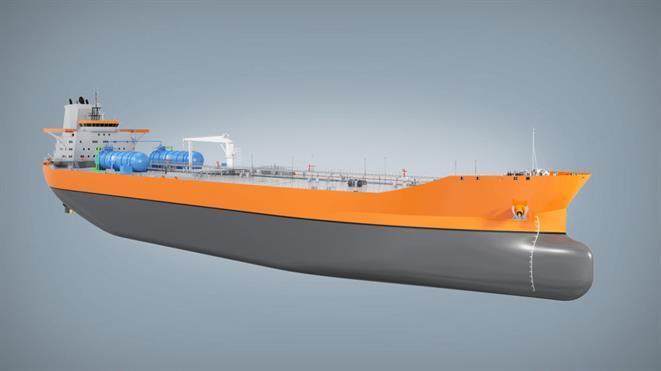 Tanker trio streamlines the waterline