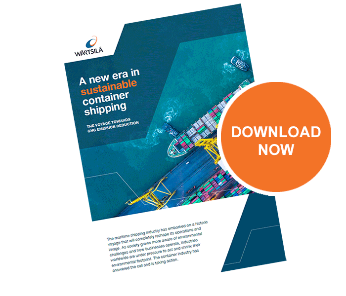 Brochure-cover-Sustainable-container-shipping
