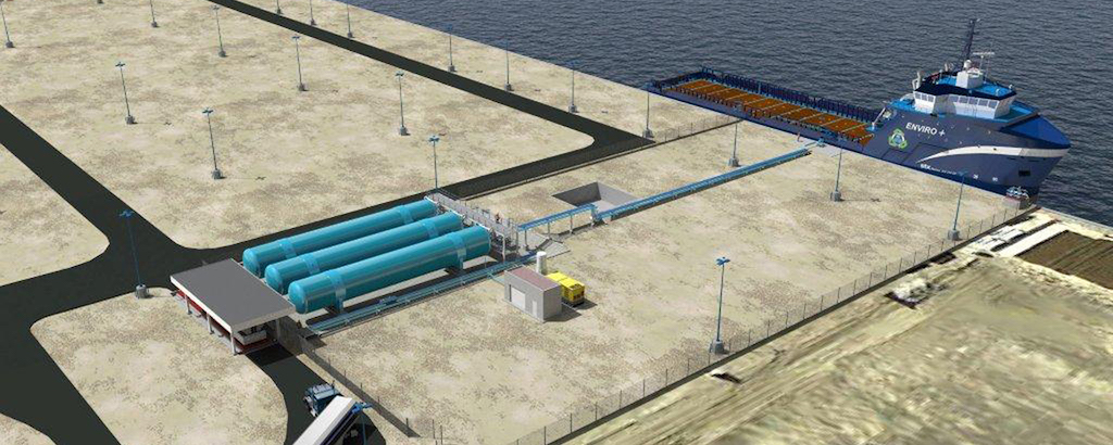 Harvey Gulf LNG Fuelling Facility, US offshore capitcal finally get its own gas pump