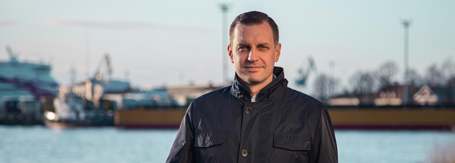 Johnny Kackur, general manager, merchant and gas carrier segment sales, Wärtsilä