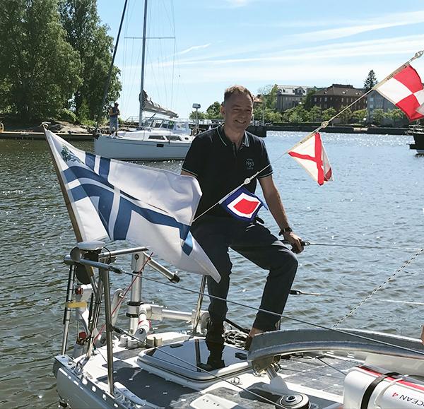 Wärtsilä Brand Hub: One Sailor, One Boat, One Wärtsilä Facing The Great Oceans