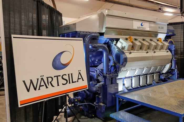MSUN Donation_Wartsila Engine