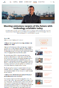Meeting emissions targets of the future with technology available today