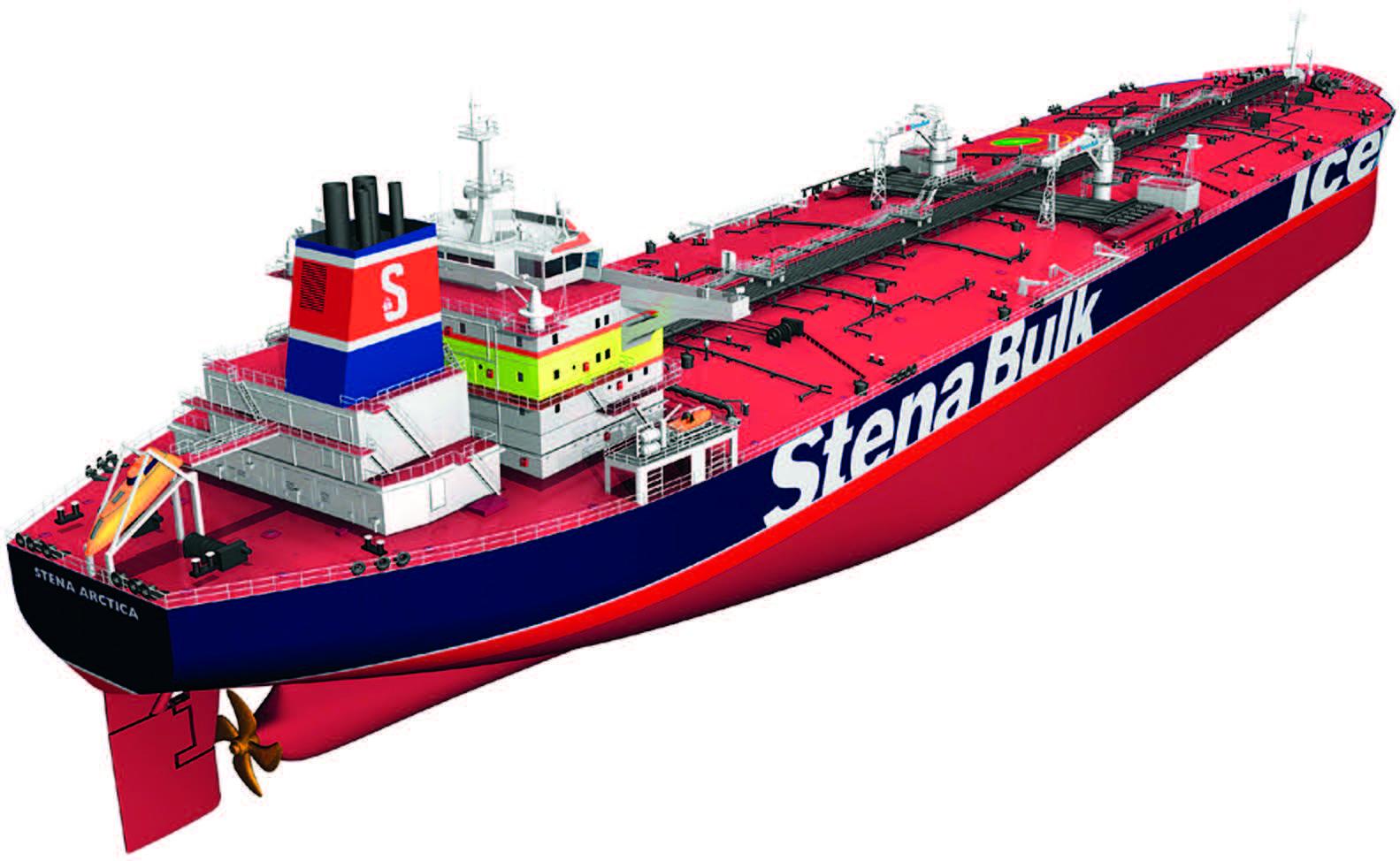 Aframax tanker