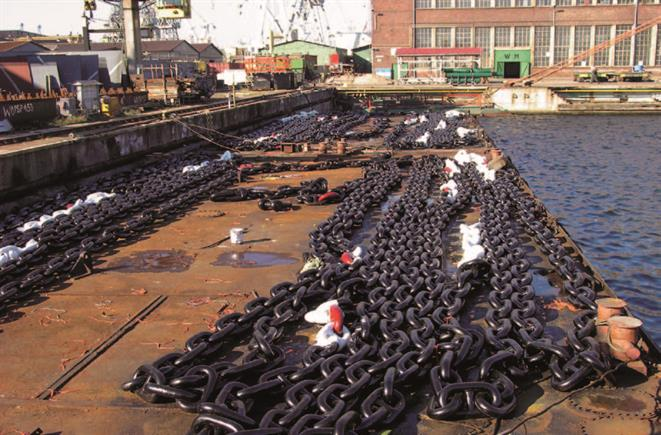 Anchor chain, anchor cable