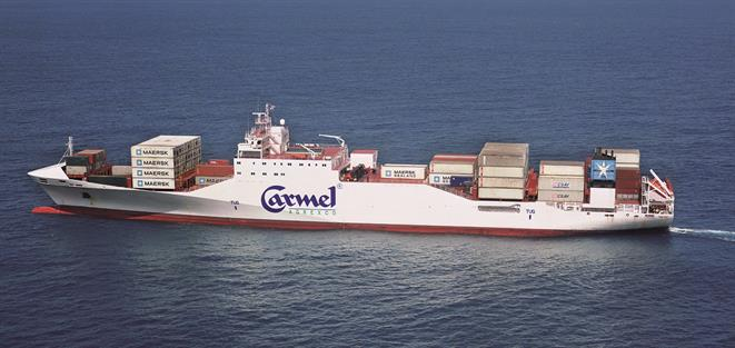 Reefer/container vessel CARMEL ECOFRESH
