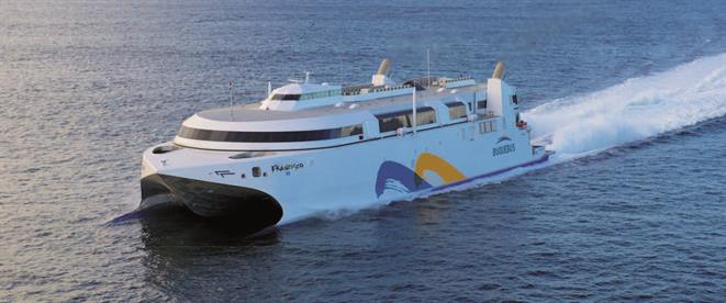 Catamaran fast ferry FRANCISCO