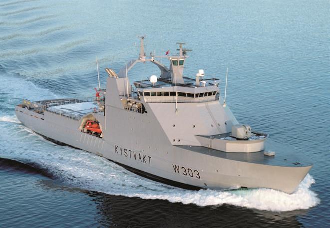 Coastguard vessel