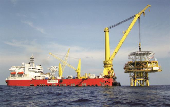 Crane vessel OLEG STRASHNOV