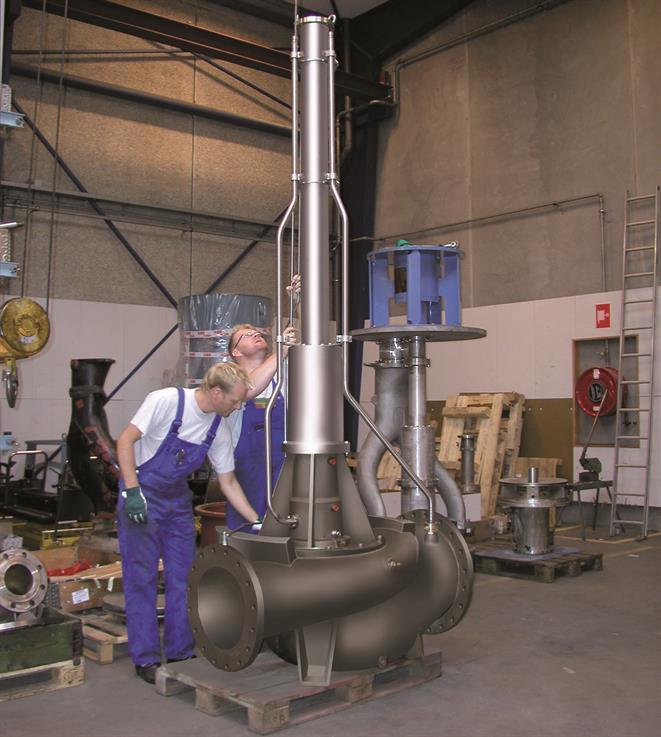 Electric Hydraulic Pump >> Deepwell cargo pumps