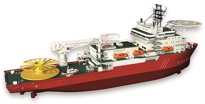 Diving Support Vessel SEVEN ATLANTIC