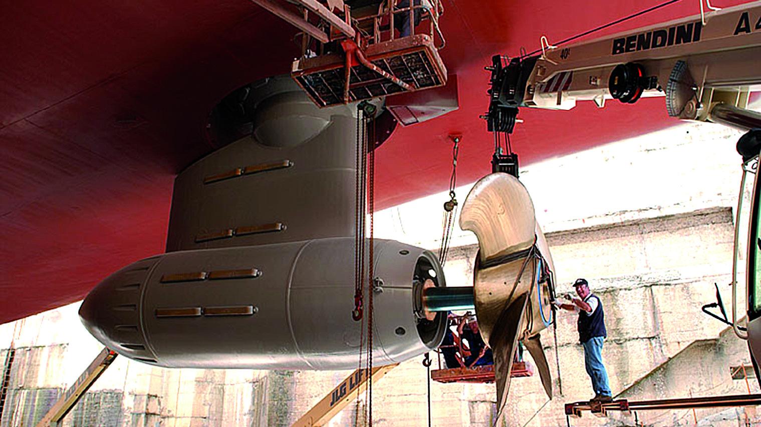 Electric podded propulsor