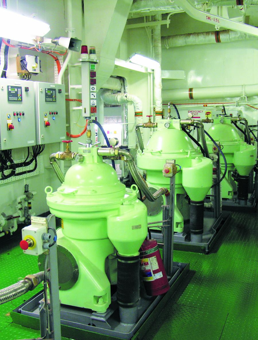 Engine room arrangement