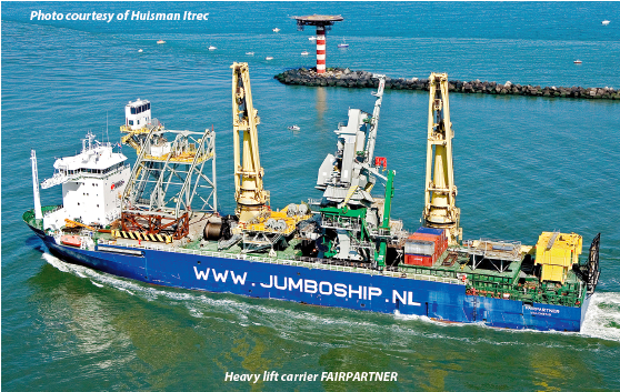 Heavy lift carrier FAIRPLAYER